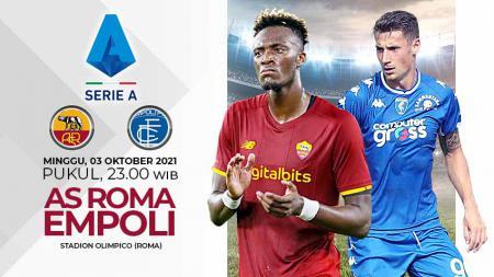 Pertandingan antara AS Roma vs Empoli (Serie A Italia). - INDOSPORT