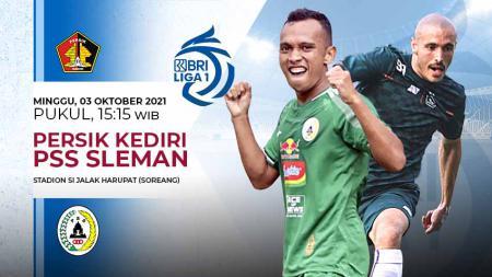 Prediksi Pertandingan Liga 1 2021: PSS Sleman vs Persik Kediri, Duel Hidup Mati 2 Pelatih. - INDOSPORT