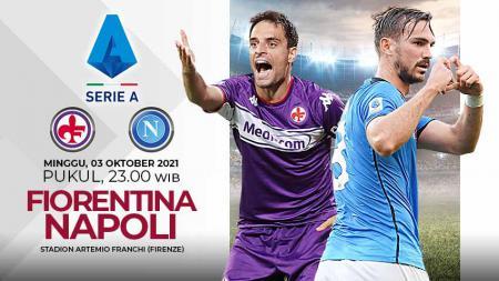 Pertandingan antara Fiorentina vs Napoli (Serie A Italia). - INDOSPORT