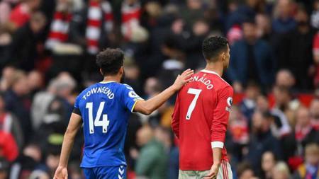 Andros Townsend dan Cristiano Ronaldo - INDOSPORT