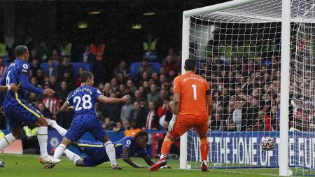 Pertandingan Liga Inggris antara Chelsea vs Southampton, Sabtu (2/10/21). - INDOSPORT