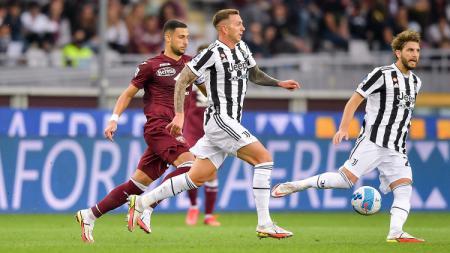 Berikut rekap hasil Liga Italia, Sabtu (02/10/21) malam hingga Minggu (03/10/21) dini hari WIB, di mana Inter Milan dan Juventus sama-sama menang dramatis. - INDOSPORT