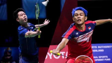 Kevin Sanjaya Sukamuljo dan Fajar Alfian - INDOSPORT