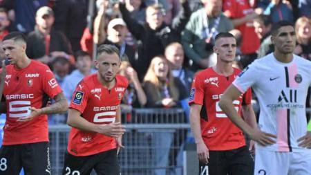 Situasi pertandingan Stade Rennais v Paris Saint-Germain - INDOSPORT
