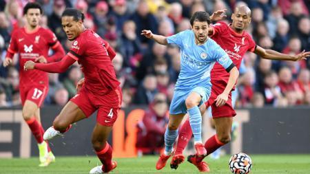 Pertandingan Liverpool vs Manchester City di Liga Inggris - INDOSPORT