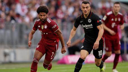 Klasemen sementara Bundesliga 2021-2022 hingga pekan ke-7 hari  ini, Senin (04/10/21), di mana posisi Bayern Munchen di puncak terancam. - INDOSPORT