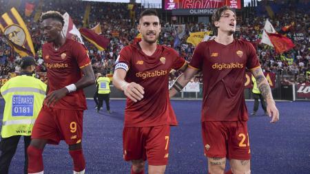 Berikut hasil Liga Italia antara AS Roma vs Empoli, Minggu (03/10/21).  Diwarnai aksi apik Lorenzo Pellegrini yang baru dapat kontrak baru, Roma raih 3 angka. - INDOSPORT