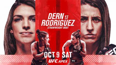 Mackenzie Dern vs Marina Rodriguez di UFC Vegas 39. - INDOSPORT