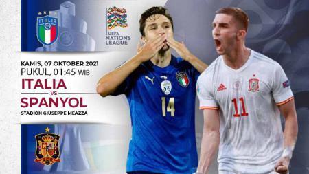 Prediksi Timnas Italia vs Spanyol - INDOSPORT