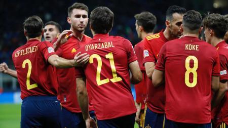 3 Rekor Fantastis Spanyol Usai Tumbangkan Italia di Semifinal UEFA Nations League - INDOSPORT