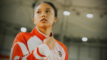 Atlet senam asal DKI Jakarta, Rifda Irfanaluthfi. - INDOSPORT
