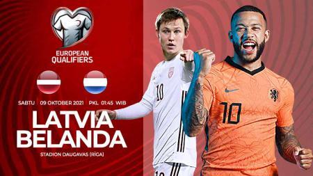 Pertandingan antara Latvia vs Belanda - INDOSPORT