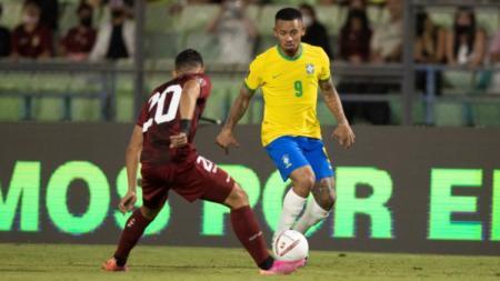 Laga Venezuela vs Brasil di kualifikasi Piala Dunia 2022, Jumat (08/10/21) pagi WIB. - INDOSPORT