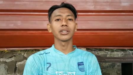 Sedang berada di Timnas, Beckham Putra tetap memberikan dukungan dan doa kepada Persib di Liga 1. - INDOSPORT