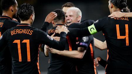 Berikut rekap hasil kualifikasi Piala Dunia 2022 zona Eropa. Belanda menundukkan Latvia, sedangkan Jerman nyaris dipermalukan Rumania. - INDOSPORT