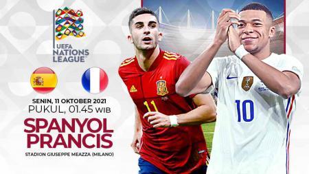 Final Nations League akan mempertemukan Spanyol vs Prancis, Senin (11/10/21) pukul 01.45. Berikut rekomendasi susunan pemain yang bisa digunakan di MPL Fantasy. - INDOSPORT