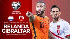 Indosport - Pertandingan antara Belanda vs Gibraltar (Kualifikasi PD Eropa).