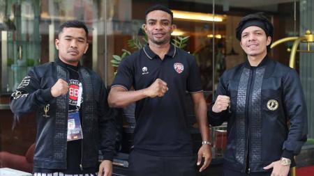 Klub Liga 2, PSG Pati, menambah kekuatan lini depan dengan mendatangkan eks bintang naturalisasi Timnas Indonesia, Osas Saha. - INDOSPORT