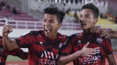 Pemain PSG Pati melakukan selebrasi melawan Persijap - INDOSPORT