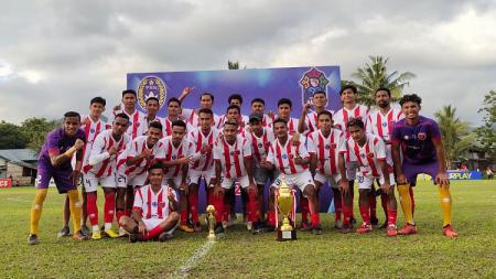 Pendatang baru Maluku FC menjuarai Liga 3 2021 zona Maluku, Selasa (12/10/21). - INDOSPORT