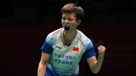 Pebulutangkis China, Wang Zhiyi. - INDOSPORT