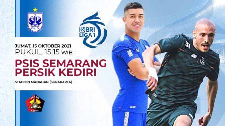 Berikut link live streaming pertandingan pekan ketujuh BRI Liga 1 2021-2022 antara PSIS Semarang vs Persik Kediri pada Jumat (15/10/21) pukul 15:15 WIB. - INDOSPORT