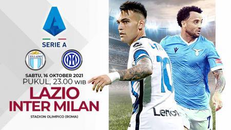 Pertandingan antara Lazio vs Inter Milan (Serie A Italia). - INDOSPORT