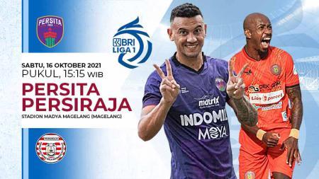 Berikut link live streaming pertandingan pekan ketujuh kompetisi kasta tertinggi Liga 1 musim 2021-2022 antara Persita Tangerang vs Persiraja Banda Aceh. - INDOSPORT