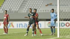 Indosport - Pertandingan Liga 2 PSMS vs Semen Padang