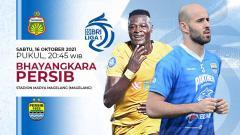 Indosport - Pertandingan antara Bhayangkara vs Persib Bandung (Liga 1 BRI).