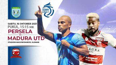 Berikut link live streaming pertandingan pekan ketujuh kompetisi kasta tertinggi Liga 1 musim 2021-2022 antara Persela Lamongan vs Madura United. - INDOSPORT
