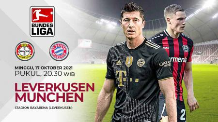 Berikut link live streaming pertandingan pekan ke-8 Bundesliga Jerman 2021/22 antara Bayern Leverkusen vs Bayern Munchen. - INDOSPORT