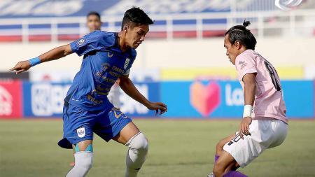 PSIS Semarang berhasil mengalahkan Persik Kediri 3-0 pada pekan ketujuh Liga 1 2021-2022 di Stadion Manahan Solo, Jumat (15/10/21). - INDOSPORT