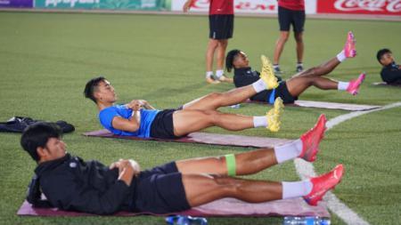 TC Timnas Indonesia U-23 di Tajikistan - INDOSPORT