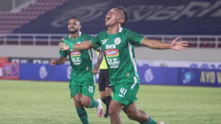 PSS Sleman berhasil mengalahkan Barito dengan skor 3-2 pada pekan ketujuh Liga 1 2021-2022 di Stadion Manahan Solo, Jumat (15/10/21). - INDOSPORT
