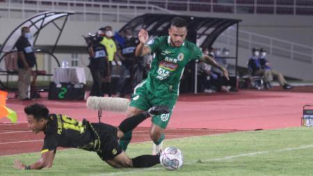 Hasil pertandingan matchday ketujuh BRI Liga 1 2021/2022 antara PSS Sleman vs Barito Putera pada Jum'at (15/10/21) petang dengan skor akhir 3-2. - INDOSPORT