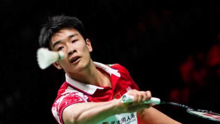 Tunggal putra China Li Shifeng - INDOSPORT