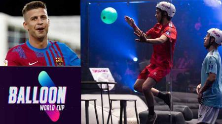Peru berhasil menjadi juara Balloon World Cup, sebuah turnamen unik yang diinisiasi oleh Gerard Pique dan Ibai Llanos. - INDOSPORT