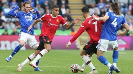 Hasil Liga Inggris Manchester United vs Leicester City - INDOSPORT