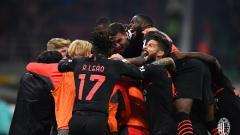 Indosport - Hasil Liga Italia AC Milan vs Verona