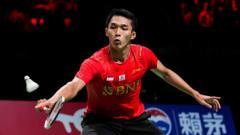 Indosport - Jonatan christie tunggal putra Indonesia