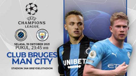 Prediksi Club Brugge vs Manchester City (Liga Champions) - INDOSPORT