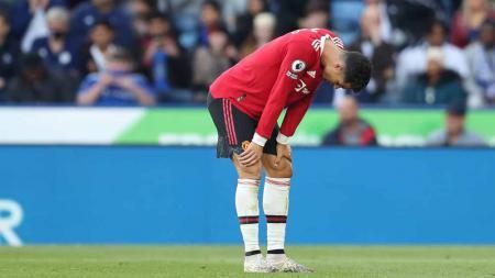 Cristiano Ronaldo, pemain Manchester United. - INDOSPORT