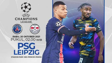Paris Saint-Germain (PSG) akan menjamu RB Leipzig pada laga ke-3 Grup A Liga Champions 2021/22 di Parc des Princes, Rabu (20/10/21) pukul 02.00 WIB. - INDOSPORT