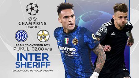 Berikut link live streaming pertandingan ketiga fase grup Liga Champions 2021-2022, antara Inter Milan vs Sheriff Tiraspol pada Rabu (20/10/21) pukul 02.00 WIB. - INDOSPORT