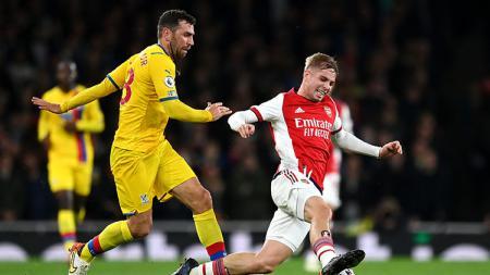 Arsenal memenangi duel kontra Aston Villa di lanjutan kompetisi Liga Inggris 2021/2022 pada Sabtu (23/10/21) lalu dengan bantuan performa Emile Smith Rowe. - INDOSPORT