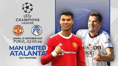 Manchester United dijadwalkan menjamu Atalanta pada matchday ketiga Grup F Liga Champions di Old Trafford, Kamis (21/10/21) dinihari WIB. - INDOSPORT