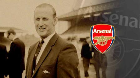Bertie Mee eks pelatih Arsenal - INDOSPORT