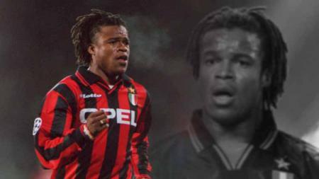 Edgar Davids saat berseragam AC Milan. - INDOSPORT