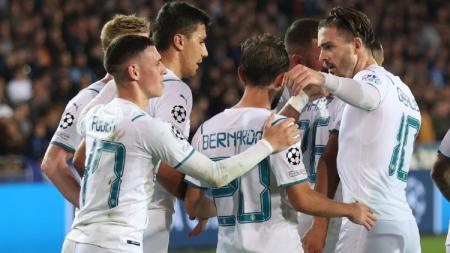Hasil Liga Champions Club Brugge vs Manchester City - INDOSPORT